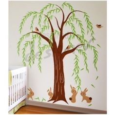Willow tree wall decal.