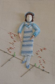 Arlene's Blog: Stumpwork figure