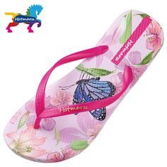Unisex Summer Beach Slippers Painting Colored Flip-Flop Flat Home Thong Sandal Shoes