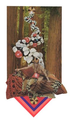 Collage vintage by Ted Feighan #collage #vintage #retro #art