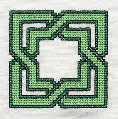 Age 10 ~ Handwork ~ Cross Stitch Pattern