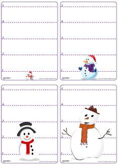 Un jeu de bataille avec les chiffres de 1 à 5 sur le thème du bonhomme de neige. French Lessons, French Class, Theme Noel, School Games, Montessori Activities, Math Classroom, Winter Activities, Winter Theme, Christmas Fun
