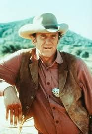 "James Arness in ""Gunsmoke"". (1955 - 1975)"