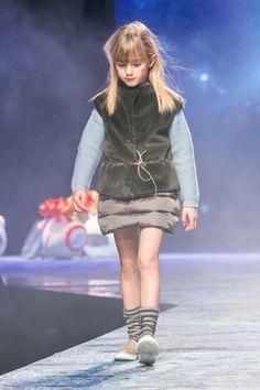 Gilet eco pelliccia per bambina