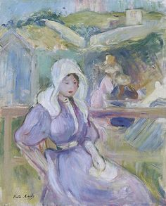 Julie Manet, Berthe Morisot, Oil On Canvas, Gallery, Artist, Artwork, Painting, Brittany, French