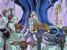 白汕子 Haku Sanshi、泰麒 蒿里 Taiki Kouri、廉麟 Renrin:十二国記 Juuni Kokki/Twelve Kingdoms - anime
