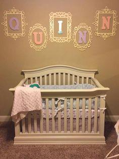 framed name Diy Baby Gate, Cribs, Bedroom, Frame, Furniture, Home Decor, Cots, Picture Frame, Decoration Home