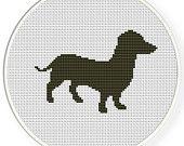Download immediato, spedizione gratuita, Cross stitch pattern, Cross-StitchPDF, cane set no.2,ZXXC0305
