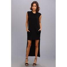 BCBGMAXAZRIA - Laurynn Hi-Low Dress (Black) - Apparel - product - Product Review