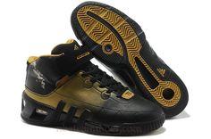 f36573a02344 Adidas Kevin Garnett VI Black Gold Kd Shoes