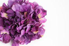 Silk Flower Hydrangeas  60 Large Hydrangea Blossoms by simplyserra