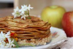 Apple Pie Tart by Summer Sanders #rawfood #vegan #applepie