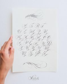 Каллиграфия. Рукописный шрифт