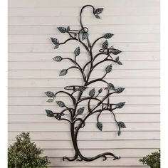 """Acquire excellent recommendations on """"metal tree wall decor"""". They are actually accessible for you on our site. Metal Pergola, Cheap Pergola, Backyard Pergola, Pergola Kits, Pergola Ideas, Pallet Pergola, Metal Trellis, Arbors Trellis, Metal Tree Wall Art"""