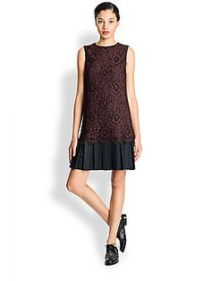 Dolce & Gabbana Lace Drop Waist Dress