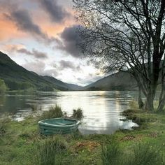 Loch Doine. Scotland. Stuart Low Photography