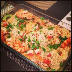 Home Tastes Good: Seafood Rice. Portuguese dish!