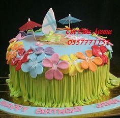 Aloha cake Aloha Cake, Birthday Cake, Desserts, Food, Hawaiian Dream Cake, Birthday Cakes, Meal, Deserts, Essen