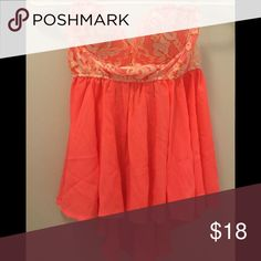 Place For Everyone Top: Neon Coral NWT size large. Tops Blouses