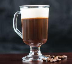Irish Coffee | Kowalski's Markets Fireball Drinks, Bourbon Drinks, Coffee Cocktails, Warm Cocktails, Alcoholic Drinks, Irish Coffee Ingredients, Whisky Cocktail, Irish Drinks, Most Popular Drinks