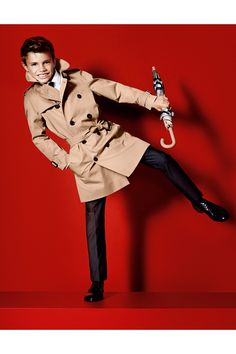 ROMEO BECKHAM has made his modelling debut in the new Burberry campaign.
