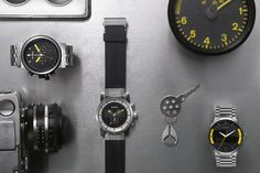 "Nixon 2012 Fall/Winter ""The Grand Prix"" Watch Collection."