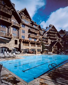 Ritz-Carlton, Bachelor Gulch, Colorado. (Possible Honeymoon location?)  This insanely-luxurious Rocky Mountain honeymoon resort has superb skiing; unreal food (fancy Wolfgang Puck cuisine at Spago, raclette cheese and organic bison at Anderson's Cabin); and a 21,000 square foot spa, offering sage salt scrubs and detoxifying mud wraps.