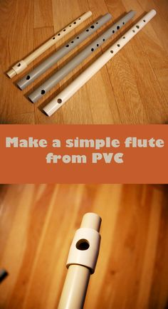 So simple — all you need is PVC pipe and a cork.