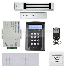 97.15$  Watch now - http://aliuq7.shopchina.info/1/go.php?t=1330412745 - DIYSECUR RFID Keypad Door Access Control Security System Kit + Magnetic Lock + Remote Control B100  #shopstyle