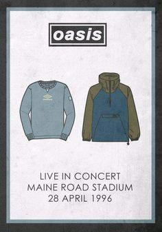 Oasis live at Maine Road Stadium | 28.04.1996