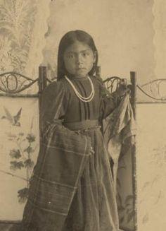 Nez Perce girl~Circa 1905