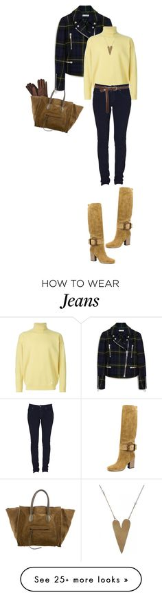 """Weekend Girl"" by marion-fashionista-diva-miller on Polyvore featuring CÉLINE, Mulberry, Burberry, Dr. Denim, Gucci, Oasis, weekendstyle, weekendlove and weekengirl"