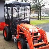 Tractor Cab For Kubota B Series Tractor Requires Canopy Kit Option W Canopy Available Tractors Tractor Cabs Sub Compact Tractors