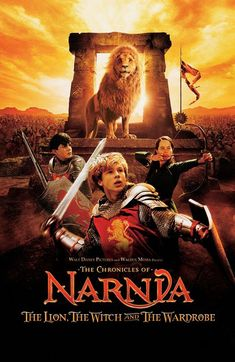 The Chronicles of Narnia: The Lion, The Witch and The Wardrobe  (2005) I remember going to see this as a little kid. My dad had read my sisters and I the books because we couldn't read yet. I love Narnia