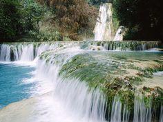 Minas Viejas Waterfalls, Huasteca Potosina, Mexico