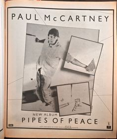PAUL ON THE RUN: A Couple of Beatle Artefacts