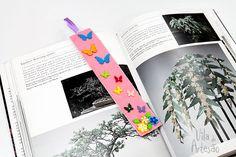 Tutorial Vila do Artesão - Marcador de livro em feltro para presentear
