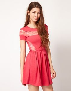 2e32e0961f Pearl Lace Insert Dress Online Shopping Clothes