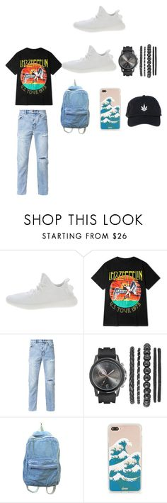 """""""MADE BY MY DAUGHTER"""" by kimrlanier on Polyvore featuring Yeezy by Kanye West, Ksubi, Sonix, Palm Angels, men's fashion and menswear"""