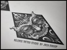 Blackwork  Jack Manop  Release tattoo studio