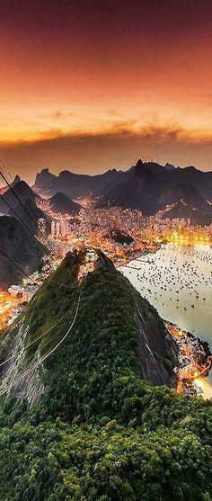 Und noch so ein Traumbild von Rio - unsere Reiselust ist spätestens hier geweckt! Urlaub in Brasilien.