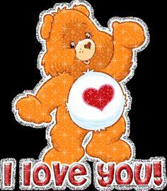 glitter clip art care bears | All Graphics » Tender heart Care bears