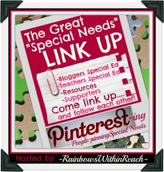 "Pinterest-ing People Pinning Special Needs - a Pinterest Directory for ""Special Needs"""