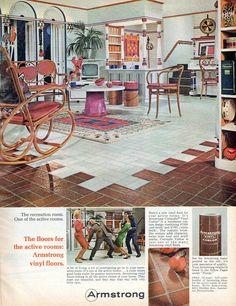 Armstrong Vinyl Floors (November 1966)