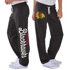 Chicago Blackhawks G-III 4Her by Carl Banks Women's Scrimmage Sweatpants - Black