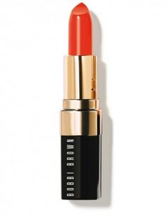 "Lip colors ""Atomic Orange"" de Bobbi Brown - tendance Fluo"