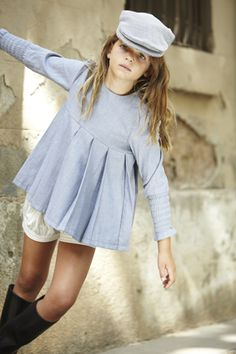Colección otoño-invierno 2014 de la firma de #moda infantil #pepitobychus www.pepitobychus.com #niños #niñas #bebé #trendy #tendencias Kids Outfits Girls, Girl Outfits, India Rose, School Uniform Fashion, Unisex Clothes, Dress Up Outfits, New Kids, Boy Fashion, Cute Kids