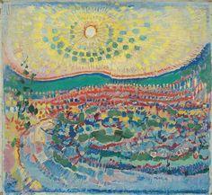 October Sun, Laren, 1910 by Jan Sluijters on Curiator, the world's biggest collaborative art collection. Maurice Denis, October Sun, Henri Matisse, Gauguin, The Joy Of Painting, Digital Museum, Dutch Painters, Flash Art, Exhibition