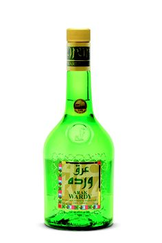 Arak Wardy - A superior arak distilled from high quality Chardonnay, Sauvignon Blanc, and Bekaa's Obeidi grapes. The best aniseeds are used and the arak is matured for two years before bottling. This gives it a rich, smooth yet subtle taste.  @domainewardy www.domainewardy.com