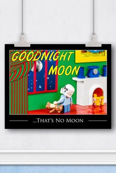Star Wars™ LEGO® Art: Goodnight Moon Book Cover Parody